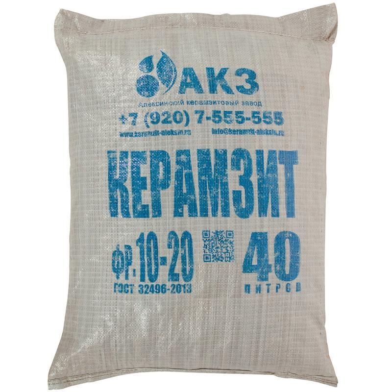 сколько стоит мешок керамзита
